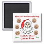 Gracias por Remebering para hacer éstos el gluten  Iman Para Frigorífico