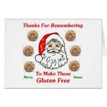 Gracias por Remebering para hacer éstos el gluten  Felicitación