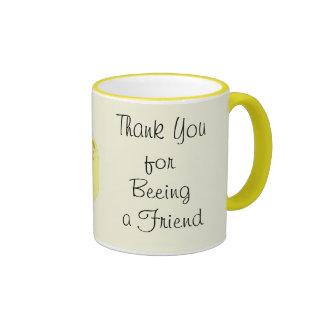 Gracias por ser (beeing) una taza del amigo
