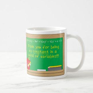 Gracias por ser mi constante en… taza de café