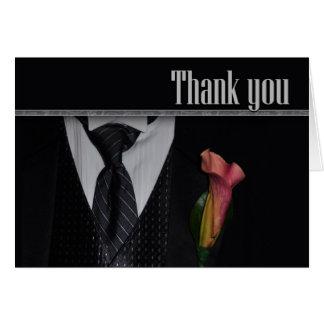 Gracias por ser mi padrino de boda felicitación