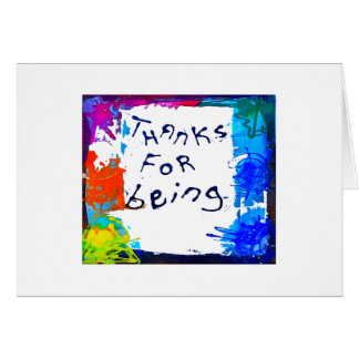 gracias por ser tarjeta de felicitación