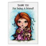 Gracias por ser un amigo felicitaciones