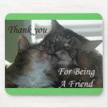 Gracias por ser un amigo Mousepad Tapete De Ratones