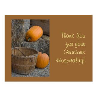 ¡Gracias por su hospitalidad graciosa! Postales