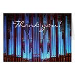 gracias por su tarjeta hermosa de la música