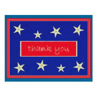 Gracias… postal del día de veteranos