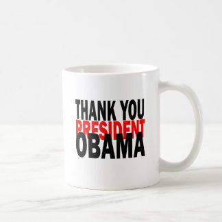 Gracias presidente Obama Taza De Café