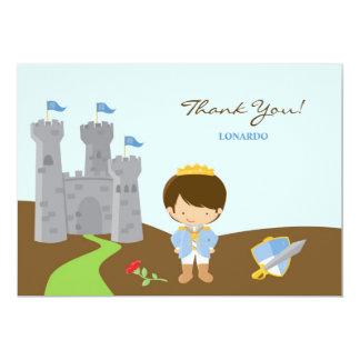 Gracias príncipe Flat Card Invitación 12,7 X 17,8 Cm