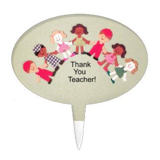 ¡Gracias profesor! Decoraciones Para Tartas