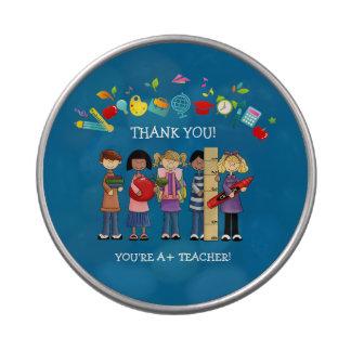 Gracias, profesor. Latas del caramelo del regalo Frascos De Caramelos