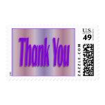 gracias púrpura sello