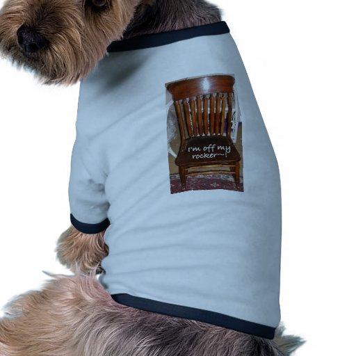 GRACIAS que estoy DE MI EJE DE BALANCÍN Camiseta Con Mangas Para Perro