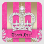 Gracias raya el oro de la corona del rosa de la jo