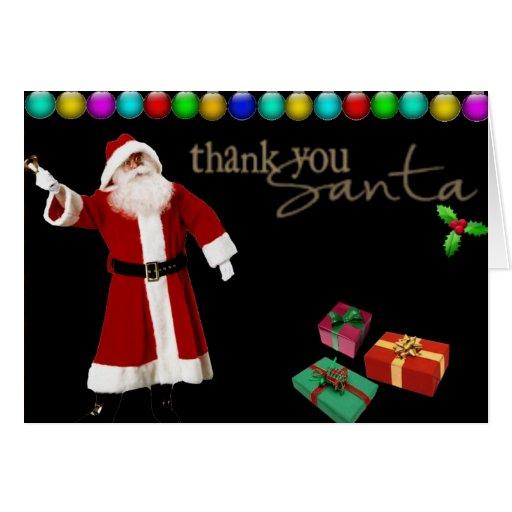 Gracias Santa Felicitacion