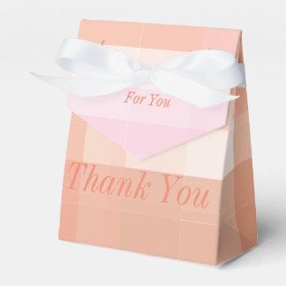 Gracias se ofrece voluntariamente cajas para detalles de boda