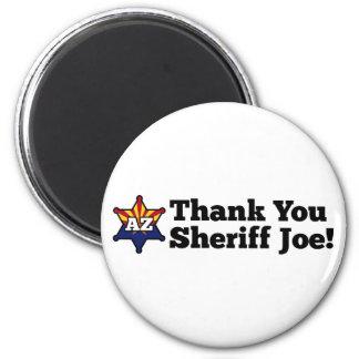 ¡Gracias sheriff Joe! Imán