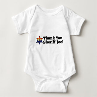 ¡Gracias sheriff Joe! Playera