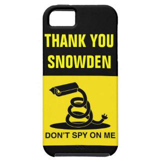 Gracias Snowden iPhone 5 Fundas