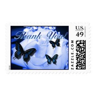 Gracias subió y las mariposas sello