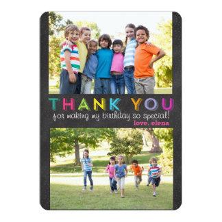 """Gracias tarjeta de encargo de la foto invitación 5"""" x 7"""""""