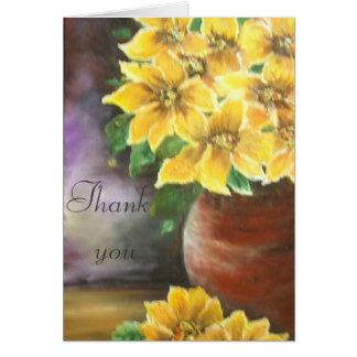gracias tarjeta de felicitación