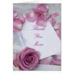 Gracias tarjeta de felicitación de la mamá