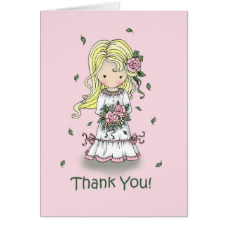 Gracias tarjeta del florista