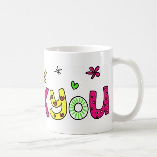 ¡Gracias! Tazas De Café