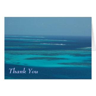 Gracias - Trinidad y Tobago Cayes Tarjeta De Felicitación