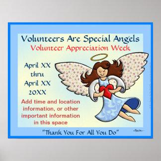 ¡Gracias! ¡Usted es un ángel! Posters