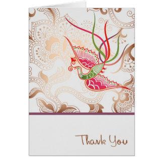 Gracias v2 tarjeta de felicitación