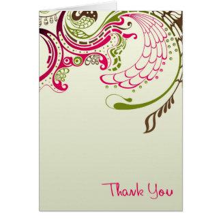 Gracias v3 tarjeta de felicitación