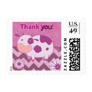 Gracias vaca rosada linda