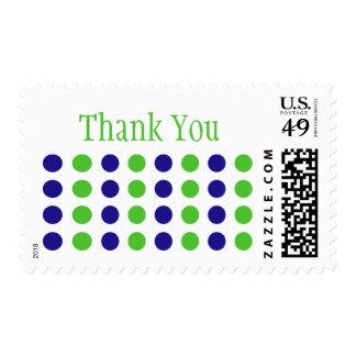Gracias (verde lima/el sello azul)