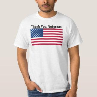 Gracias, veteranos playera