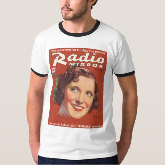 Gracie Allen Radio Mirror Mag Cover 1936 T Shirt