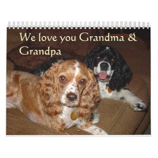 Gracie and Riley Calendar