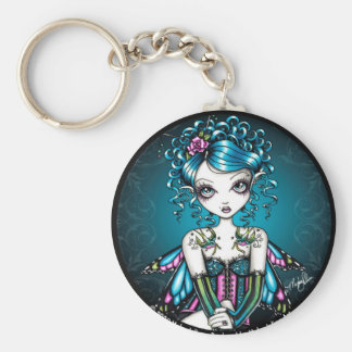 Gracie Couture Swallow Tattoo Fairy Keychain
