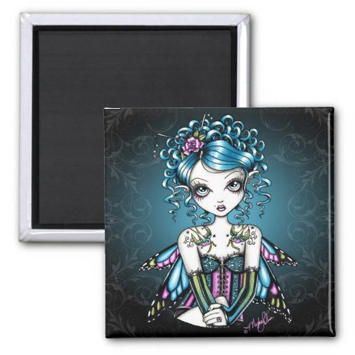 Gracie Gothic Couture Fairy Refrigerator Magnets