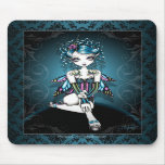 """""""Gracie"""" Gothic Couture Swallow Fairy Mousepad"""