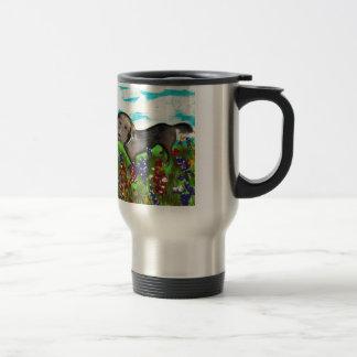 Gracie in the Field Travel Mug