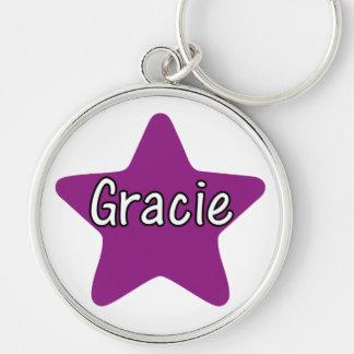 Gracie Star Keychain