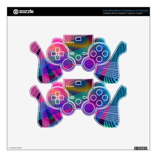 gracies harp decal for PS3 controller