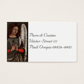 Gracious Angel Folded Hands Business Card