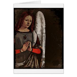 Gracious Angel Folded Hands Card
