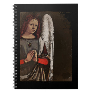 Gracious Angel Folded Hands Notebook