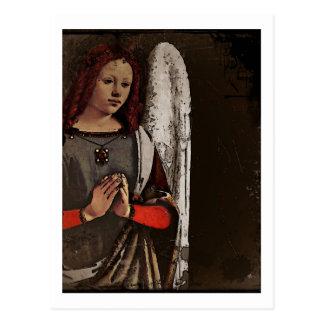 Gracious Angel Folded Hands Postcard