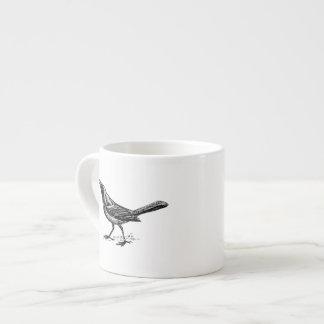 Grackle Bird Vintage Sketch Espresso Cup
