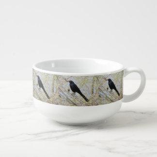 Grackle Grande-atado Bol Para Sopa